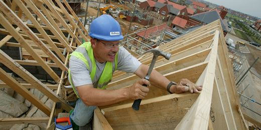 Builders offer yields of up to 10% as shares slide