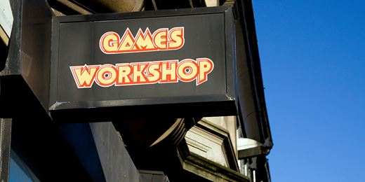 Funds hit as star stock Games Workshop bites back